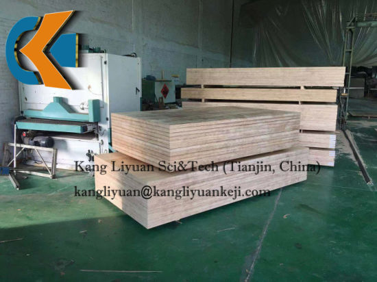 Non-Impregnated Densified Laminated Wood for Electrical Purposes