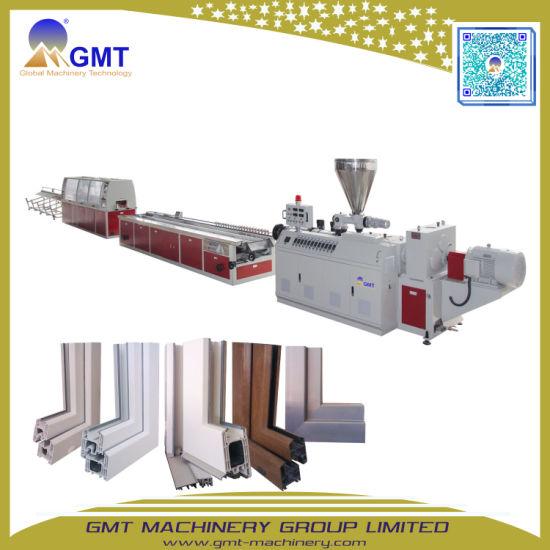 China Plasitc PVC Wide Window Door Frame Profile Making Machine ...