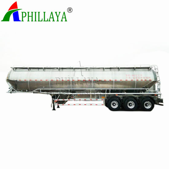 Phillaya Factory Price 3 Axles Fuel Oil Transport Tank Tanker Semi-Trailer Semi Truck Trailer pictures & photos