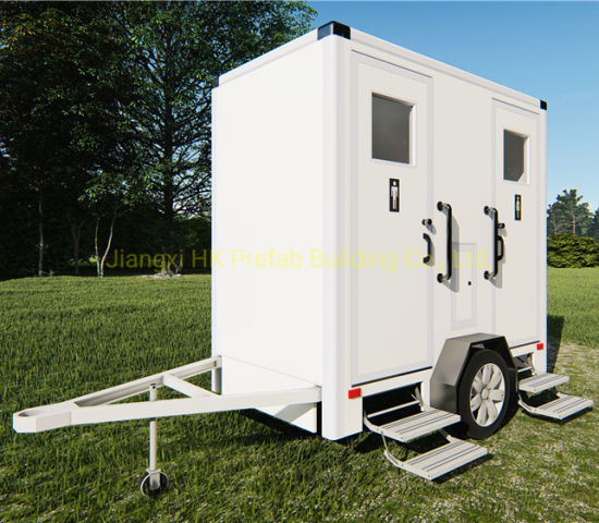 Modular Prefabricated Mobile Trailer Toilet for Rental. pictures & photos