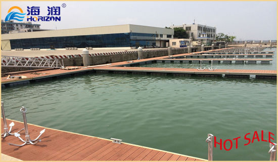 Longer Life Span Aluminum Floating Docks Pontoon Made in China pictures & photos