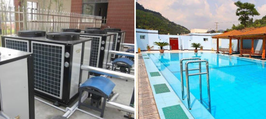 Eco Friendly Swimming Pool Heat Pump Water Heater Units for ...