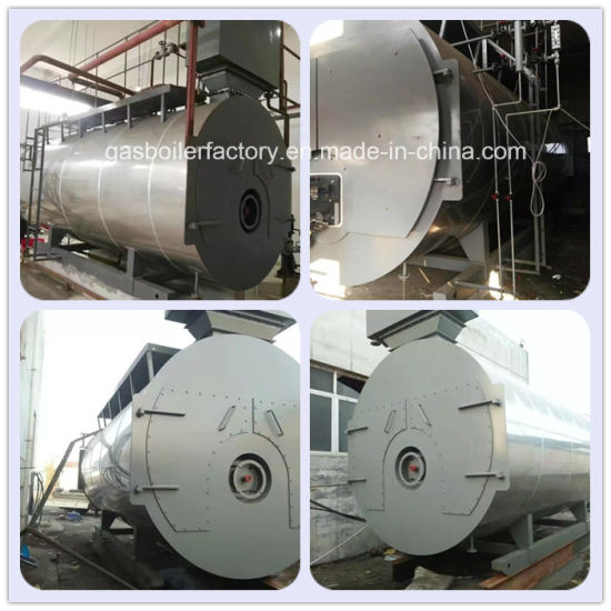 China Enough Heating Power Wns Series Fire Tube Oil and Gas Fired ...