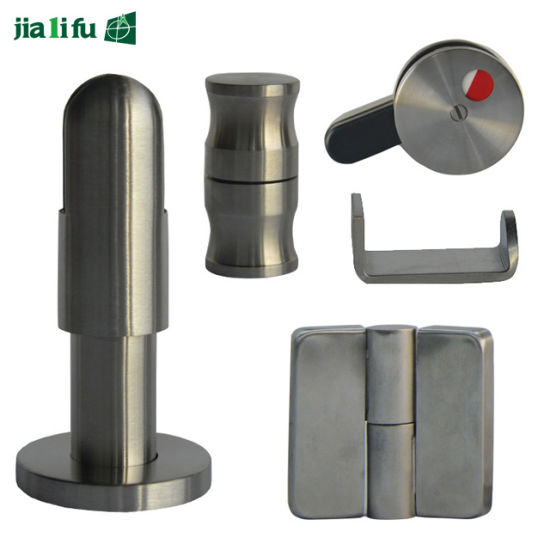 Jialifu Complete Set Zinc-Alloy Toilet Cubicle Fittings pictures & photos
