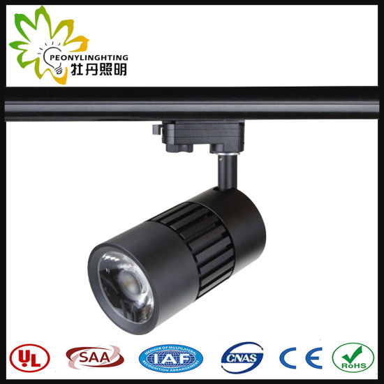 2/3/4 Wires COB LED Track Spot Light 25W with 10/23/38 Degree Beam Angle