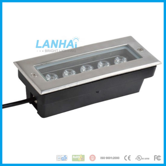 5W Straight Embedded Lamp Buried Spotlight LED Linear Underground Light pictures & photos