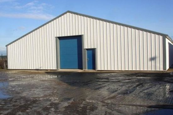 Low Cost Portal Frame Steel Structure Warehouse