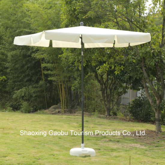 Steel Rectangle Umbrella with Tilt pictures & photos