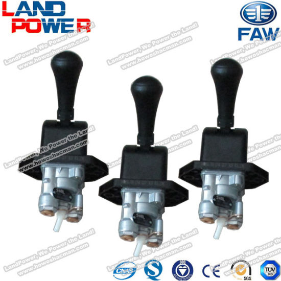 3508020-D818 Original Truck Hand Brake Valve FAW Freight Carrier Truck Spare Parts for FAW Truck with SGS Certification and Competive Price