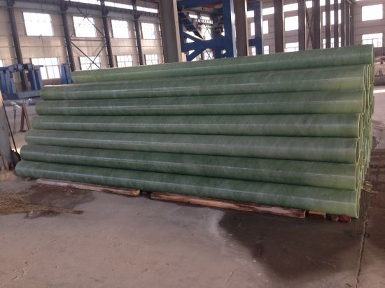 China High Strength GRP Pipe FRP Pipe Gre Pipe Fiberglass Pipe Epoxy