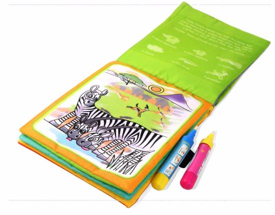 Good Quality Children Magic Water Drawing Cloth Book Painting