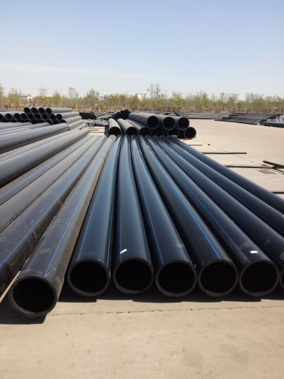 Dn315 Pn0.8 PE100 High Quality Water Supply Pipes pictures & photos