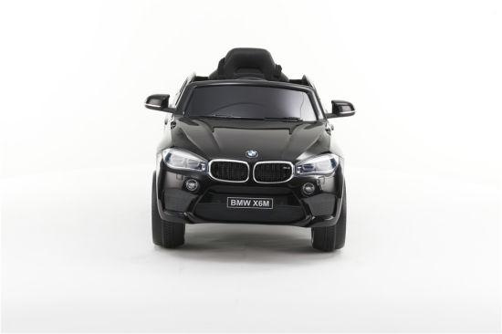BMW X6 Single Seat Kids Car in Black