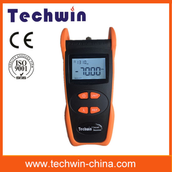 Techwin Handheld 800-1700nm Laser Power Meter Tw3208e pictures & photos