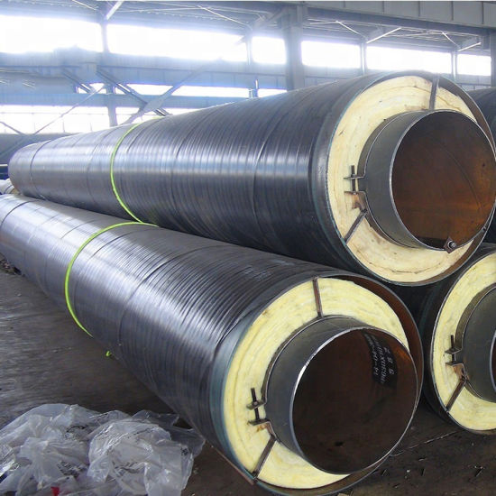 Polyurethane Foam Thermal Insulation Steel Pipe Manufacturer pictures & photos