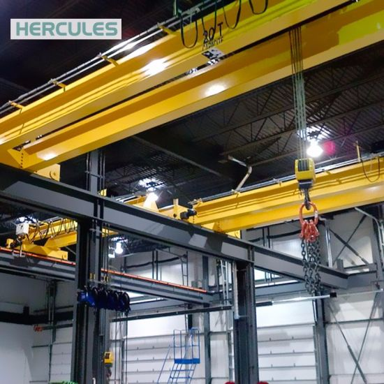 High Quality Double Beam Bridge Crane Lifting 40t pictures & photos