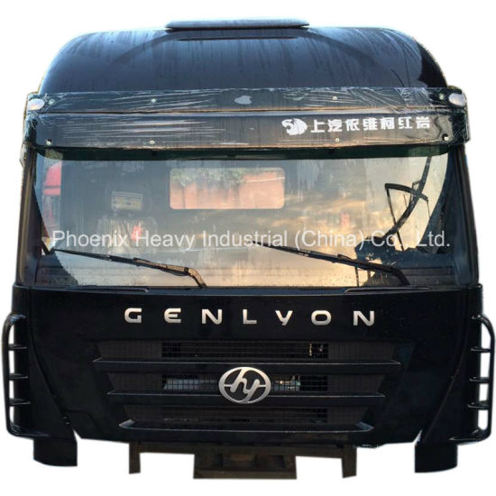 China High Roof Hongyan Iveco Genlyon Heavy Truck Cab