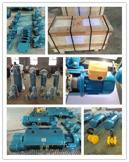 Md1 CD1 Electric Double Lifting Running Lifting Speed Winch Hoist pictures & photos