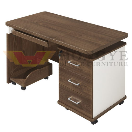 Modern Design Wooden Small Staff Office Furniture Table Computer Desk Hy Z26