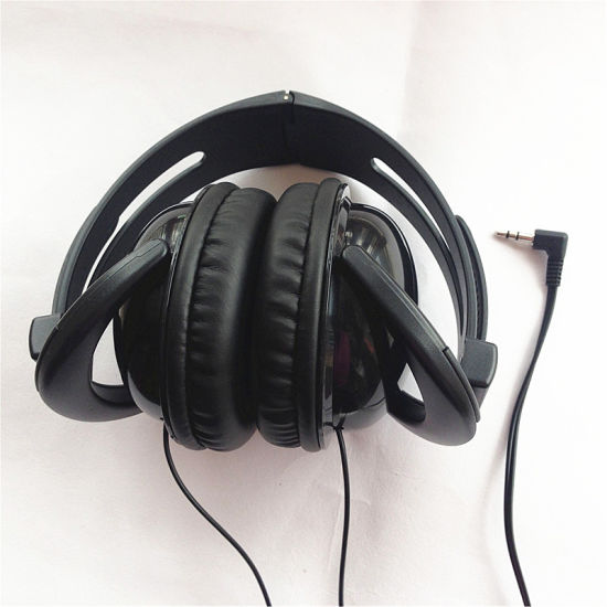 Cheap Custom Logo Fodable Earphone Streachable Headphone pictures & photos