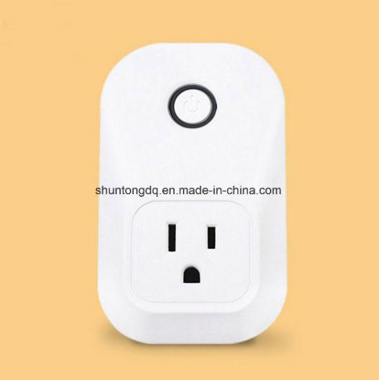 Works with Google Home&Amazon Alexa Smart Mini WiFi Socket Plug High Quality Alexa Smart Socket
