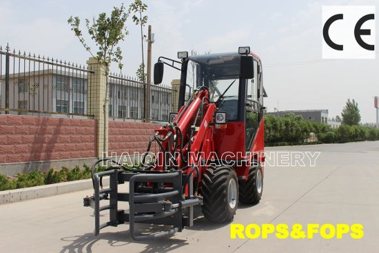Small Ce Shovel Loader (HQ908) with Lawn Mower pictures & photos