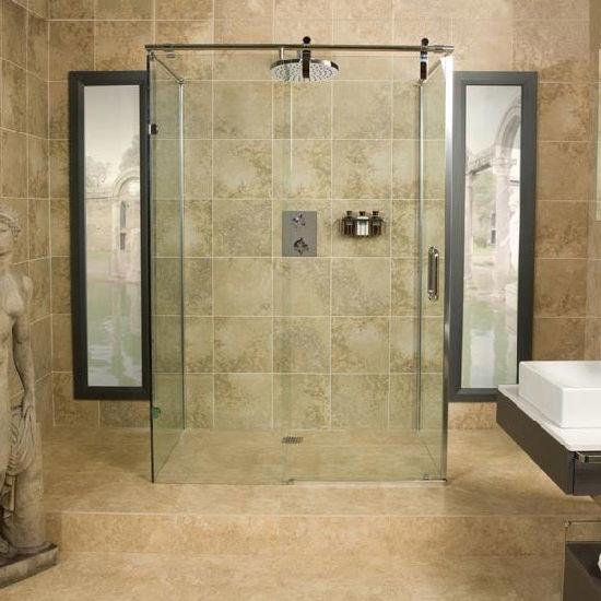 China Toughened Safety Glass Sliding Shower Door Shower Enclosures