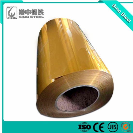 Color Coated Aluminum Coil for Ceiling, Decoration, Gutter, Home Appliance