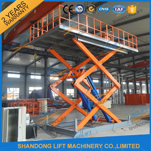 Hydraulic Scissor Underground Garage Lift with Ce pictures & photos