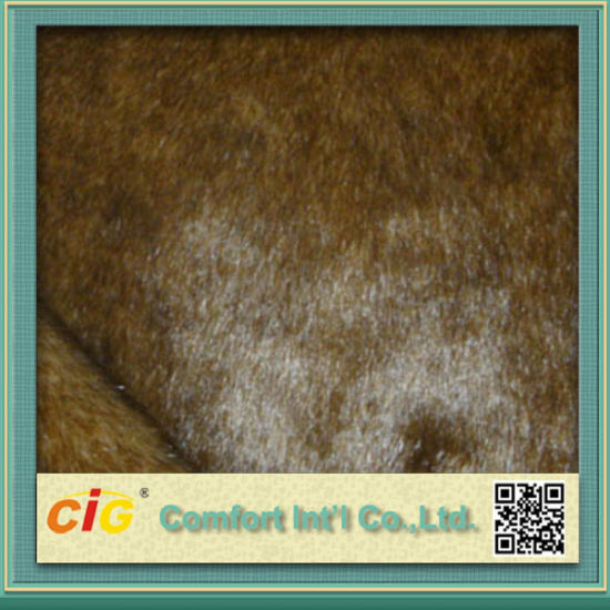Colorful High Quality Faux Fur Fabrics