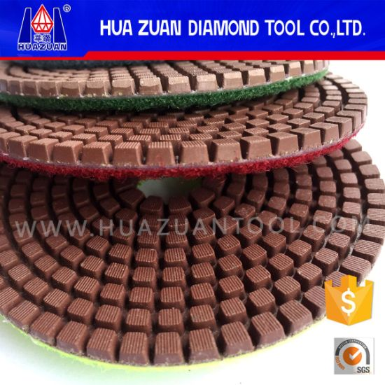4 Inch Angle Grinder Polishing Pads pictures & photos