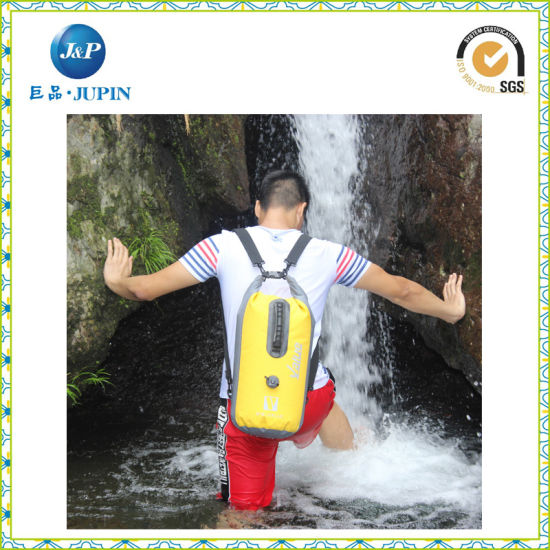 Promotional Outdoor Camping 20L Waterproof Barrel Backpack Dry Bag (JP-WB016)