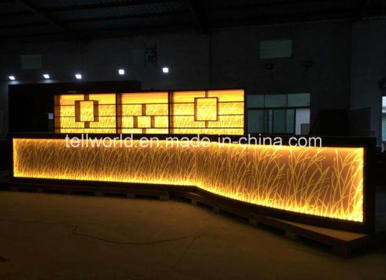 China Modern Bar Furniture with LED Fansy modern Bar Counter Design ...
