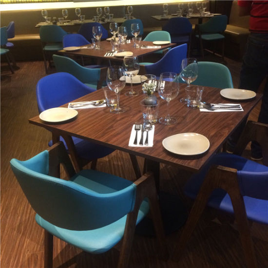 Western Restaurant Style Fancy Dining Table Chair Foh Rfs2