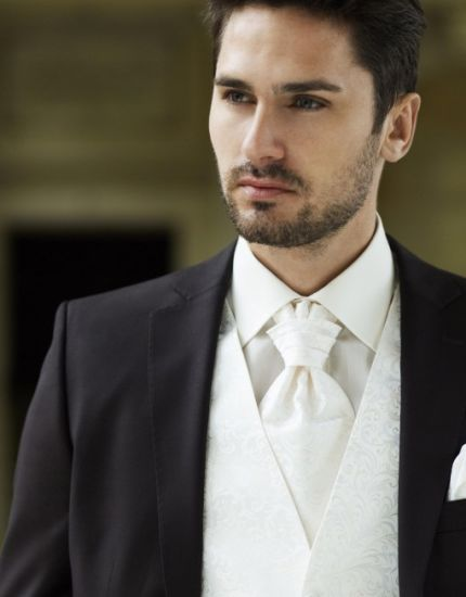 Business Suit for Men in Brown High Quality Wool Suit