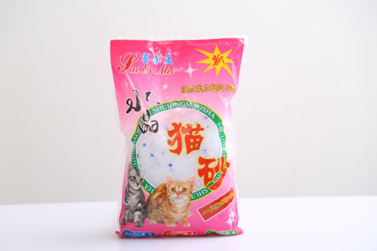 Color Silica Gel Cat Litter- Health, Noclumping; Cleaning pictures & photos