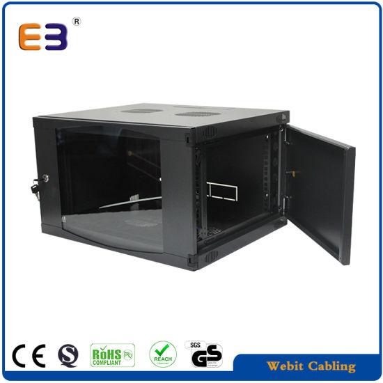 19 9u Windows Type Gl Door Wall Mount Network Cabinet