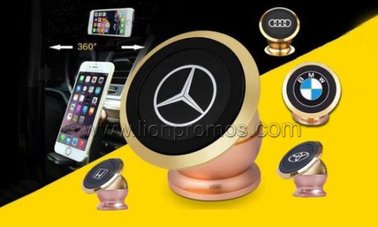 Custom Logo Car Promotion Gift Strong Magnet Mobile Stander