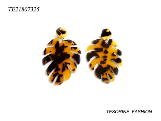 New Arrival Costume Fashion Design Leaf Earrings Jewelry pictures & photos
