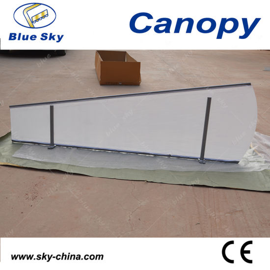 2014 New Type Door Canopy with Polycarbonate Sheet (B910) pictures & photos