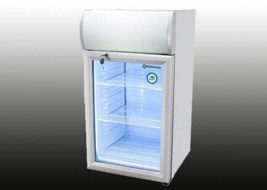 80l Auto Defrost Gl Door Mini Fridge Made In China