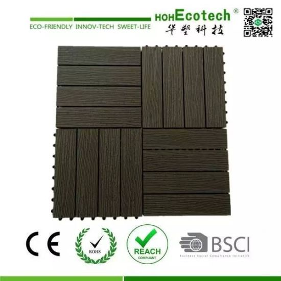 wpc diy interlocking tiles plastic base deck tile eco friendly diy deck11 eco