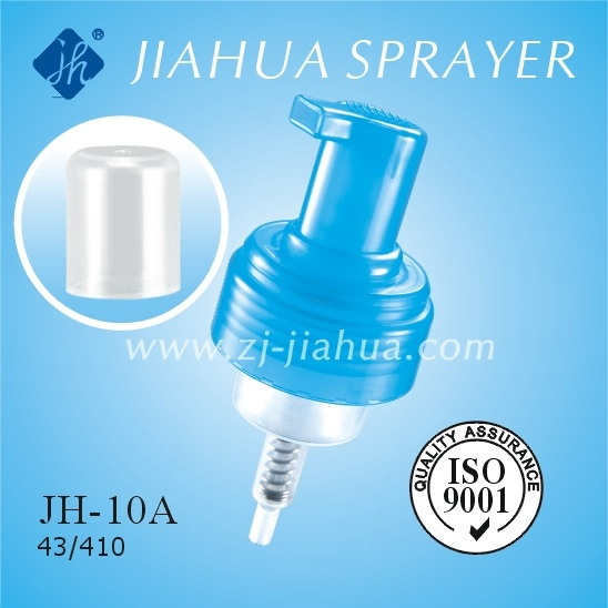 Fine Plastic Foam Pump with Clear Cover or Lock Switch (JH-10A)