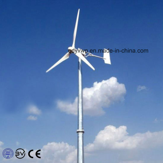 10kw Home Wind Turbine System with Controller, Inverter, Tower pictures & photos