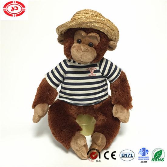 Plush Sitting Monkey Animal Kids Stuffed Soft Toys