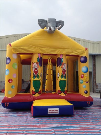 Best Selling Funny Inflatable Elephant Jumping Bouncer Castle for Sale pictures & photos