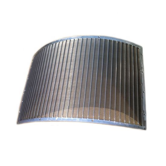 304 Wedge Wire Dsm Screen Parabolic Screens for Fertilizer