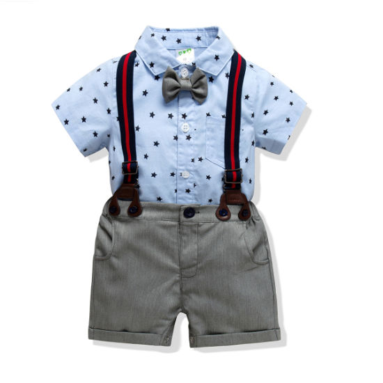 Baby Fanonicals Cotton Suspenders Suit Baby Clothes