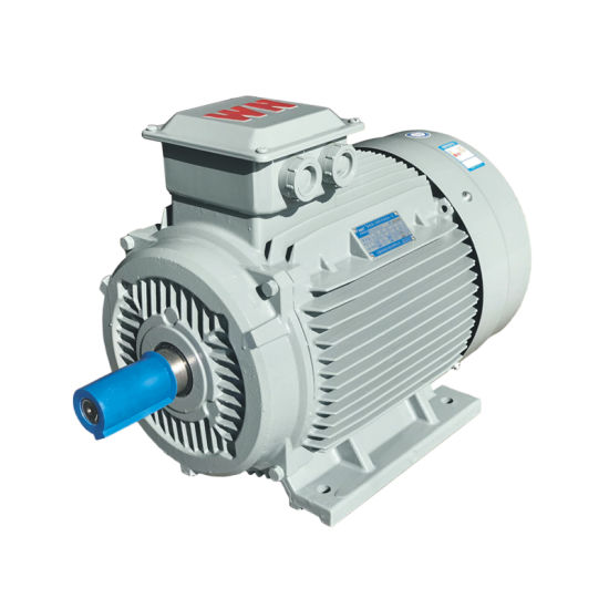 IEC (IE1 IE2 IE3 IE4 IE5) Ce CCC Three Phase Induction AC Electric Motor for Fan Pump Blower Compressor Crusher Conveyor IC411 Tefc F IP55 63~355mm 0.12~400kw