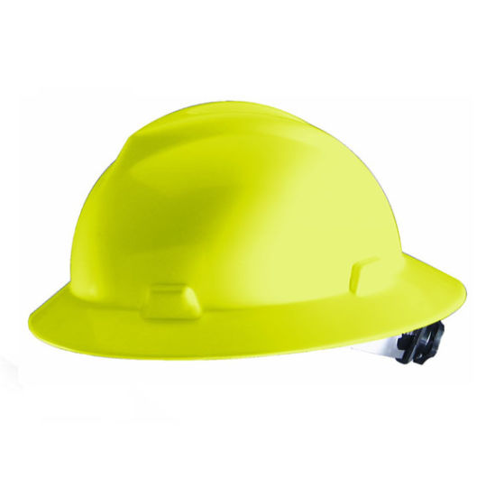 ANSI Z89 1 Ce Industrial Construction Mining Msa Hard Hat Full Brim Safety Helmet
